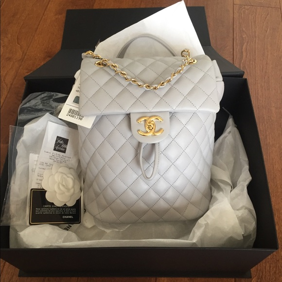 12e173681195 CHANEL Bags | Urban Spirit Back Pack Small Size | Poshmark